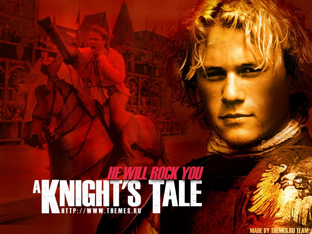 a knights tale film description I smiled, in fact, all through brian helgeland's a knight's tale, which tells  the  film stars heath ledger, said to be the next big thing on the.